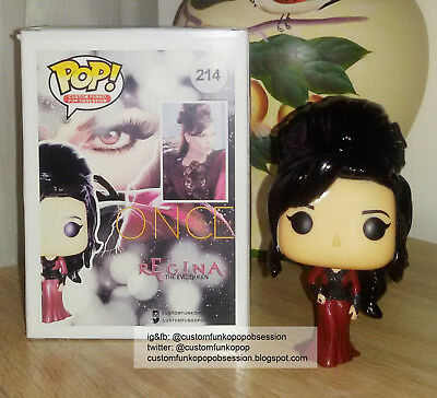 Once Upon A Time Custom Funko Pop - Regina Mills - Lana Parrilla