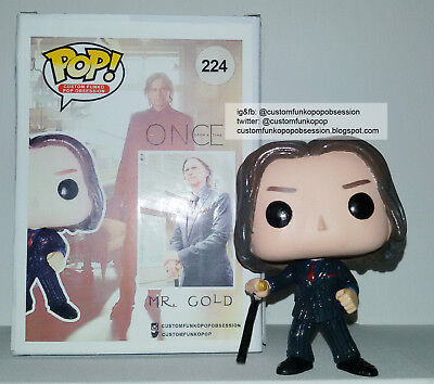 Once Upon A Time Custom Funko Pop - Rumplestiltskin Mr.Gold - Robert Carlyle