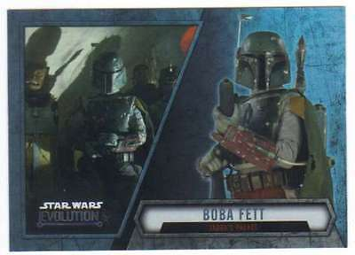 2016 Topps Star Wars Evolution Cartes à Collectionner #54 Boba Fett de Jabba