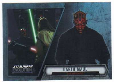 2016 Topps Star Wars Evolution Cartes à Collectionner #94 Darth Maul Sith