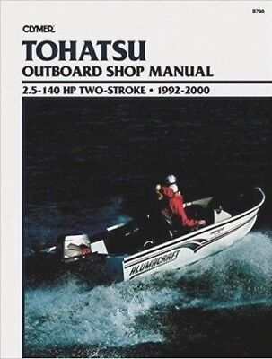 Clymer Manuals Tohatsu 2.5 - 140 hp Two-Stroke Hors-Bord, 1992-2000 B790