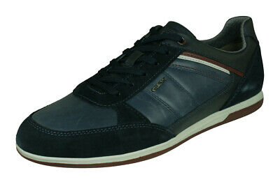 SCARPE UOMO GEOX ESTATE U720LA 0NB22 C9272 WARRENS GREYANTHRACITE