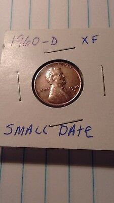 1960 D Lincoln Memorial Penny Small Date