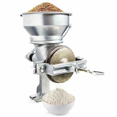 Biltek Corn Wheat Grinder Cast Iron Hopper Grain Manual Grinder Home Commercial