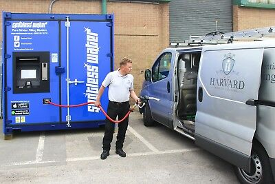 Water Fed Pole, Window Cleaning, Pure Water Filling Station - Molesey