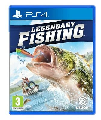 Legendary Fishing (PS4)  BRAND NEW AND SEALED - IN STOCK - QUICK DISPATCH