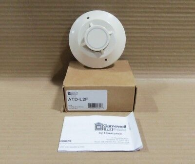 New In Box Gamewell FCI ATD-L2F Heat Detector Head Fire Alarm