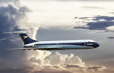 Roden 313: 1:144 Vickers Super VC10 Type 1151 (BOAC-British Overseas Airways Cor