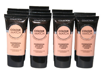 Collection Colour Match Flawless Natural Finish Foundation * Choose Your Shade *