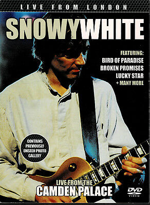 """(DVD) Snowy White """"Live From The Camden Palace"""" (2012)"""