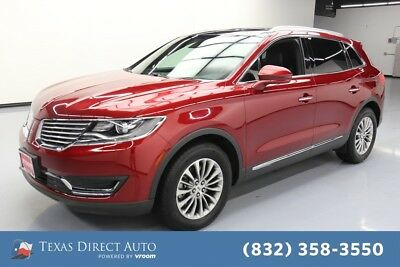 2017 Lincoln MKX Select Texas Direct Auto 2017 Select Used 3.7L V6 24V Automatic FWD SUV