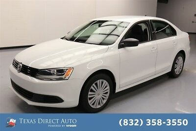 2014 Volkswagen Jetta TDI 4dr Sedan 6A Texas Direct Auto 2014 TDI 4dr Sedan 6A Used Turbo 2L I4 16V Automatic FWD Sedan