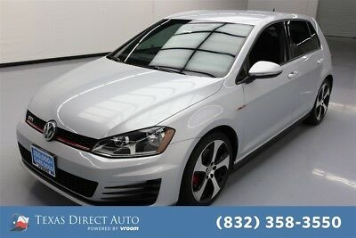 2015 Volkswagen Golf SE 4dr Hatchback 6A Texas Direct Auto 2015 SE 4dr Hatchback 6A Used Turbo 2L I4 16V Automatic FWD