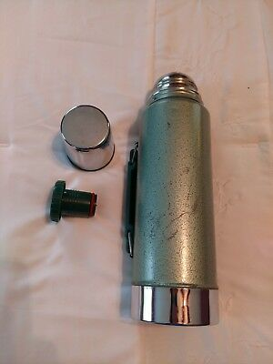 Vintage Genuine Stanley Aladdin Thermos A-944Dh, Quart Made In Usa