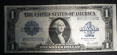 1923 One Dollar $1 Silver Certificate- Nice Note