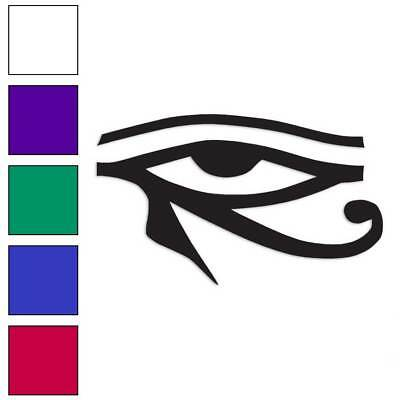 Wadjet Eye Of Horus Decal Sticker Choose Color + Size #272