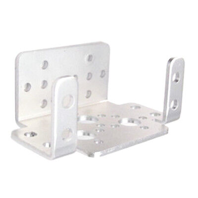 Silver U-Shaped Servo Bracket, PTZ Robotic Manipulator DIY Robot Mount