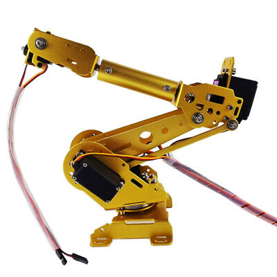 NEW 6-DOF Mechanical Arm Robot Claw with Servos for Robotic Arduino DIY KIT