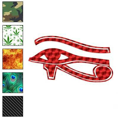 Eye of Horus Wadjet Decal Sticker Choose Pattern + Size #271