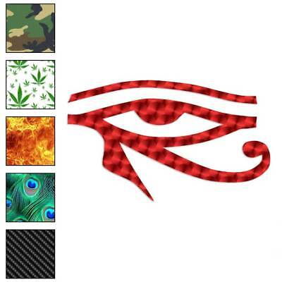 Wadjet Eye Of Horus Decal Sticker Choose Pattern + Size #272