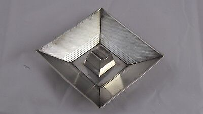 SMART ART DECO SOLID STERLING SILVER ASHTRAY CIGAR / CIGARETTE REST 1938 51 g
