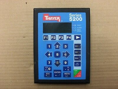 Thayer Scale 5200 Keypad OI-5200 Solid Flow Control