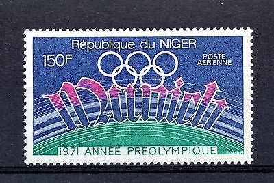 Niger (1358) 1971 Air. Publiity for Olympic Games, Munich  Lightly mounted Sg381