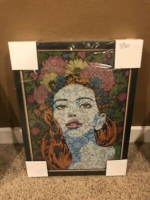 Chuck Sperry Reason Oak Wood Panel xx/30 Signed Sold Out rare