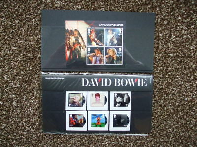 G.B Royal Mail Mint Stamps Presentation Pack David Bowie + Mini Sheet 2017