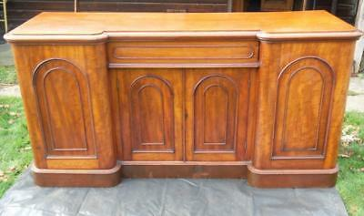 ANTIQUE VICTORIAN MID 19th.C. MAHOGANY CHIFFONIER SIDEBOARD BUFFET CIRCA1850-60