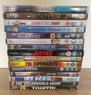 DVD Bundle Job Lot x15 Comedy Drama Fantasy Action Science All New Sealed
