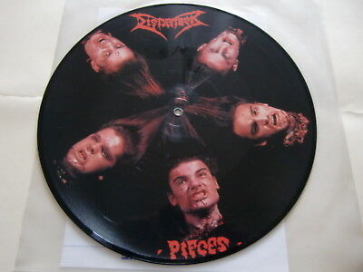 "Dismember / Pieces  / Rare Picture Disc 12"" !!"