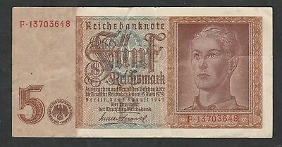 5 Mark From Germany 1942
