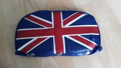 Red//White/Blue Union Flag Scooter Back Rest Cover (Purse Style)