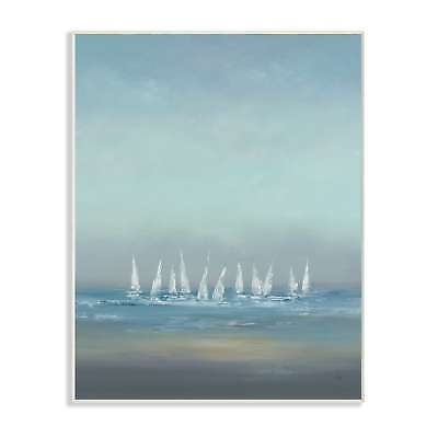 The Regatta Abstract Seascape Wall Plaque Art