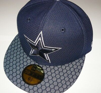 75ddd4c04 NEW 6-7 8 Men s Dallas Cowboys New Era 2017 Sideline Official 59FIFTY Fitted