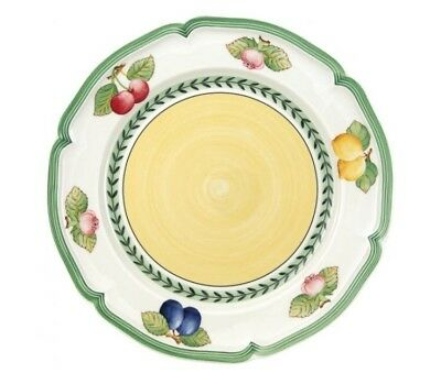 Eight (8) Villeroy & Boch  French Garden Fleurence 10 1/4 Inch Dinner Plates