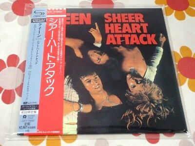 QUEEN sheer heart attack Japan MINI LP SHM CD SEALED
