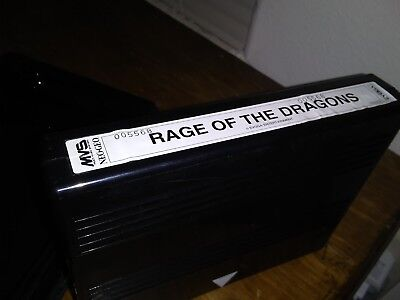 Rage Of The Dragons Mvs Neo Geo SNK authentic