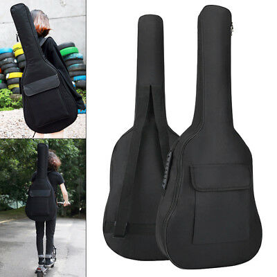 36 Inch Guitar Case Gig Bag Double Straps Oxford Fabric Pad 5mm Cotton