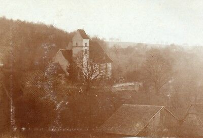 Photo  Eglise du village de DURLINSDORF près SEPPOIS le HAUT Haut Rhin 1914 1918