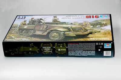 TRUMPETER® 00911 WWII US Army M16 Multiple Gun in 1:16