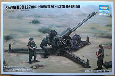 TRUMPETER® 02329 Soviet D-30 122mm Howitzer - Late Version in 1:35