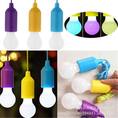 LED Light Bulb Stick Up Cordless Battery Operated Portable Night Handy Lamp DU