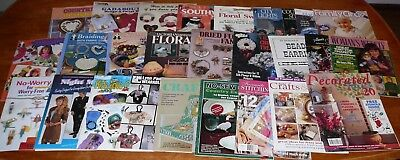 Craft Books Sewing Projects Gifts Applique Beads Christmas Ideas Tole (d)