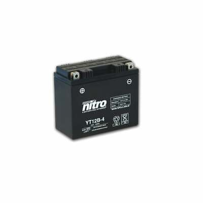 Nitro Gel Sealed - Factory Activated Battery YT12B-4