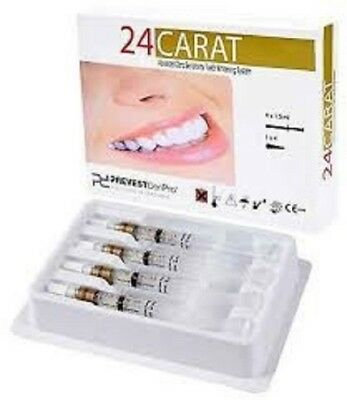 24 Carat Advance Tooth Whitening System 22 % Prevest Denpro Carbamide Peroxide