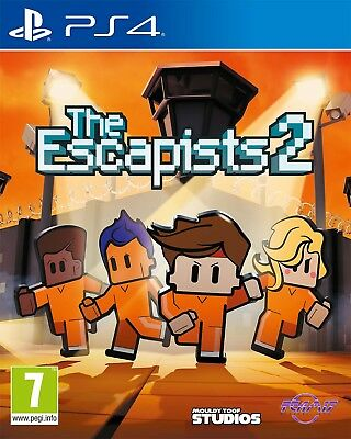 The Escapists 2 (PS4)  BRAND NEW AND SEALED - IN STOCK - QUICK DISPATCH
