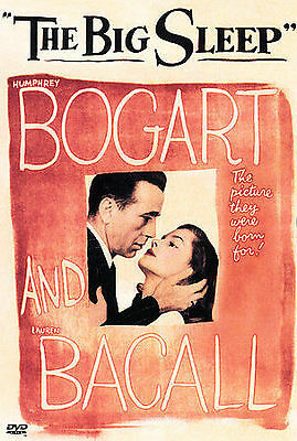 The Big Sleep DVD 2000 Contains Two Versions Bacall Bogart NEW SEALED