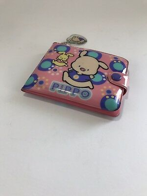Sanrio Vintage Pippo Pig Vynil/Plastic Wallet 1993/1997 Preowned Collect